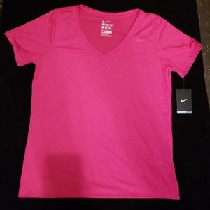 Pink Nike Workout Top